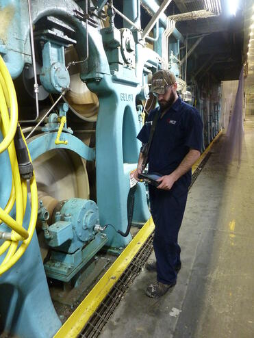 Vibration route analysis by HECO Industrial-All Systems Go