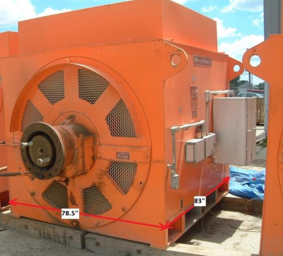 5500HP Synchronous motor- surplus electric motor