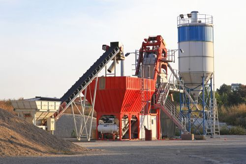 Cement and aggregate industries