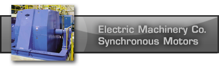 Electric Machinery Company - Synchronous Motors