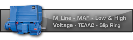 M Line - MAF - Low and High Voltage - TEAAC - Slip Ring M Line - MAF - Low and High Voltage - TEAAC - Slip Ring