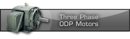Three Phase ODP Motors