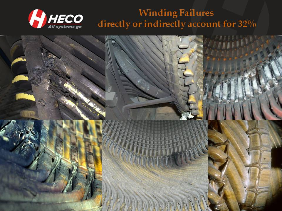 Common Preventable Electric Motor Failures Windings