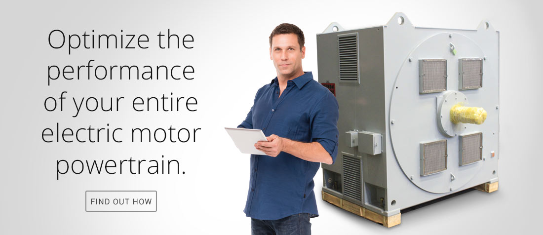 Optimize the performance of your entire electric motor powertrain.